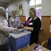 Esten haben ein neues Parlament gewählt