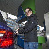Erdgas tanken und sparsamer fahren