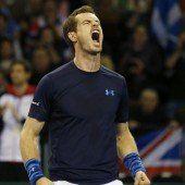 Murray führte britsches Team ins Viertelfinale
