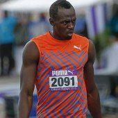 Usain Bolt gab in Jamaika sein Saisondebüt