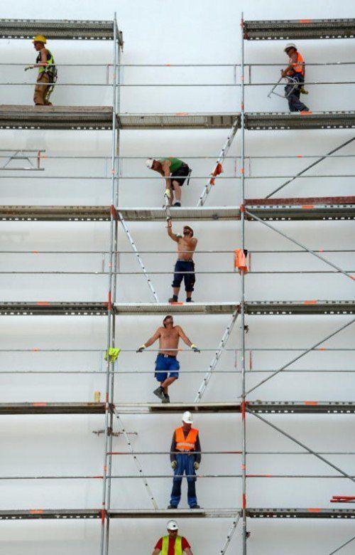 Das neue Wohnpaket sieht 30.000 neue Wohnungen vor. Arbeitsplätze sollen geschaffen und Wohnen leistbarer gemacht werden. FOTO: DPA