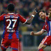 Alaba-Tor bei Bayern-Sieg
