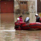 Evakuierungen nach Hochwasser in Spanien