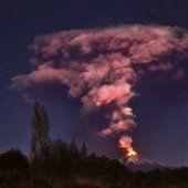 Nach Vulkanausbruch in Chile 3500 gerettet