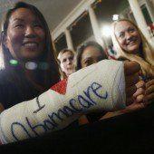 Obamacare zeigt weiterhin Erfolge