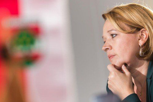 Die Dornbirner Stadtchefin Andrea Kaufmann sieht sich mit einem spannenden Wahlsonntag konfrontiert.  Fotos: VN