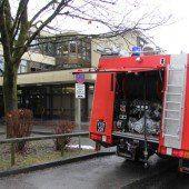 Brandstifter legen Feuer in Dornbirner Musikhauptschule