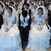 Massenhochzeit in Südkorea
