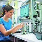 Das Technikland Vorarlberg bietet die besten Chancen in einem Beruf
