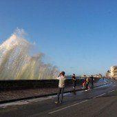 Grande Marée bieten wilde Wasserspiele