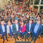 Sachlicher Wahldiskussionsabend in vollbesetzter Remise in Bludenz