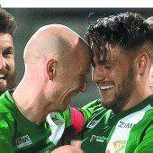 Austria-Kicker mit Befreiungsschlag gegen den Tabellenführer