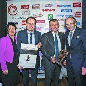 Ehren-ADGAR für den Handelskonzern Spar