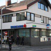 Lochau: Bankraub wenige Meter vom Polizeirevier