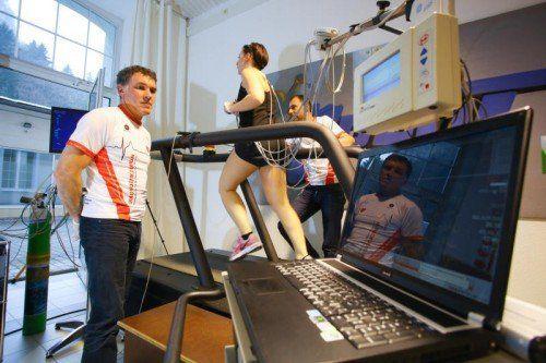 Eine Leistungs- oder Stoffwechselsdiagnostik erbringt die richtigen Trainingswerte. Foto: VN/Hofmeister