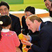 Prinz William besuchte Opfer von Tsunami