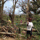 Zyklon: Präsident gibt Klimawandel Mitschuld