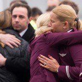 Trauer um die Opfer von Flug 4U9525