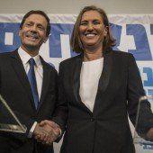 Netanjahu gegen Herzog und Livni