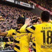 Dortmund bejubelt sein Zauberduo Batman und Robin