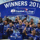 Chelsea in England weiter auf Triple-Kurs