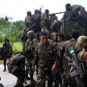 14 Tote bei Kämpfen mit muslimischen Rebellen auf den Philippinen