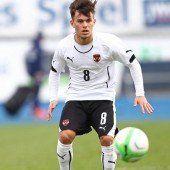 ÖFB-U-19-Team nach Sieg über Italien bei EM 1.