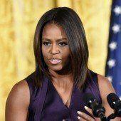 Michelle Obama vermisst frische Luft