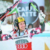 Marcel Hirscher ist im Riesentorlauf einsame Spitze