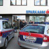 Sparkasse in Lochau überfallen