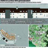 Schloss-Hofen-Umbau nimmt jetzt Fahrt auf