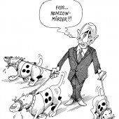 Putins eifrige Spürhunde!