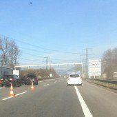Drei Verletzte bei Unfall auf der Rheintalautobahn