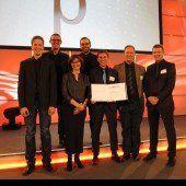 Auszeichnung für Automatisierer Eberle