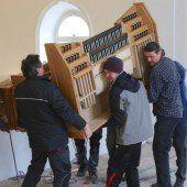 Orgelklänge kehren zurück nach Gisingen