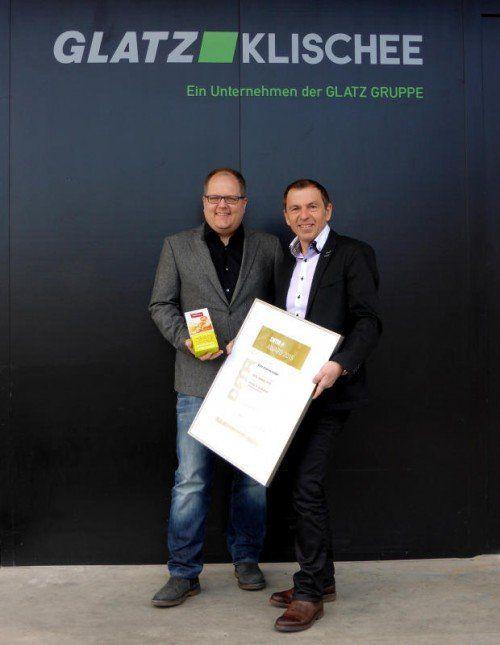 Holger Stier (techn. Leiter) und GF Manfred Schrattenthaler.  Foto: GK