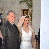 Hochzeit vor einem Millionenpublikum