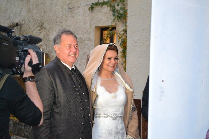 Hochzeit Vor Einem Millionenpublikum Vorarlberger