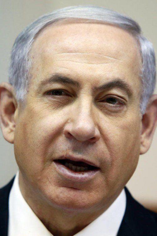 Immer stärker angefeindet: Premier Benjamin Netanjahu.  FOTO: AP
