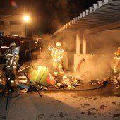 Brände vom Montafon bis Gaißau