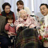 Japanerin feiert 117. Geburtstag
