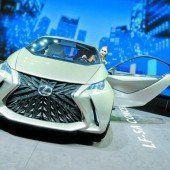 Lexus zeigt erstmals Konzept für Kleinwagen