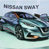Nissan verrät die Optik für neuen Kleinwagen