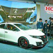 Honda zündet Modellfeuerwerk