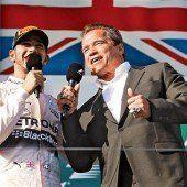 Der Terminator im Interview mit dem Sieger