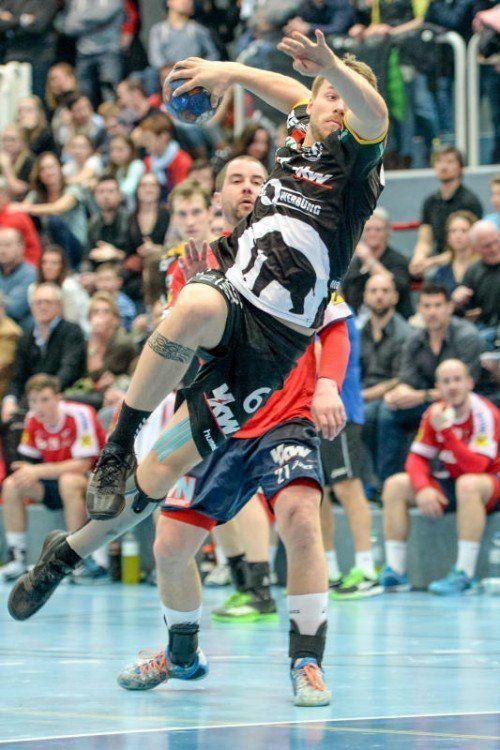 Lukas Frühstück stellte zuletzt gegen West Wien seine Wichtigkeit im Bregenzer Kader eindrucksvoll unter Beweis. Foto: gepa