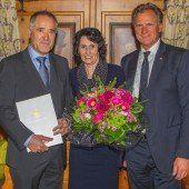 Hohe Auszeichnung für Liebherr-Chef Brandl