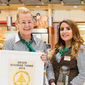 Goldene Tanne für Feldkircher Sparmarkt