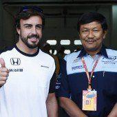 Fernando Alonso spricht von Fehler am Auto