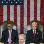 Netanjahu nutzte Bühne in den USA